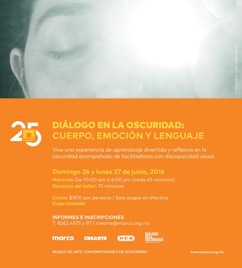 Oscuridad en el Museo: Diálogo en la Oscuridad en MARCO
